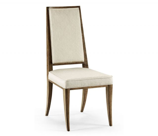 Jonathan Charles Catalonia Upholstered Walnut Dining Chair
