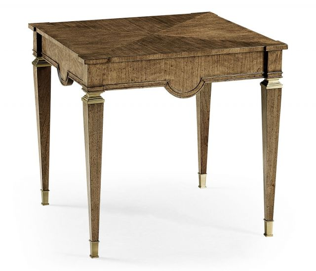 Jonathan Charles Catalonia Walnut Veneer Side Table