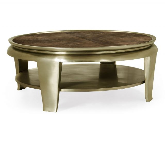 Jonathan Charles Catalonia Walnut Veneer Coffee Table