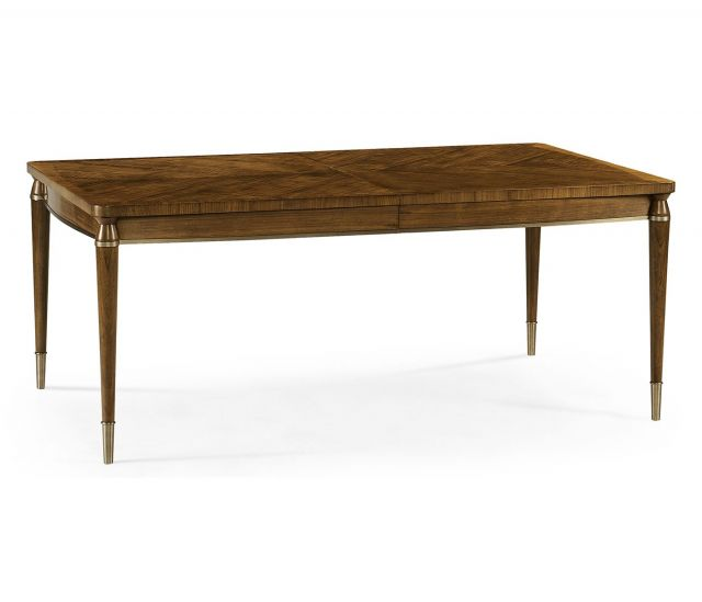 Jonathan Charles Garonne Walnut Extending Dining Table
