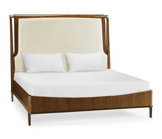 Jonathan Charles Garonne Walnut Super King Bed