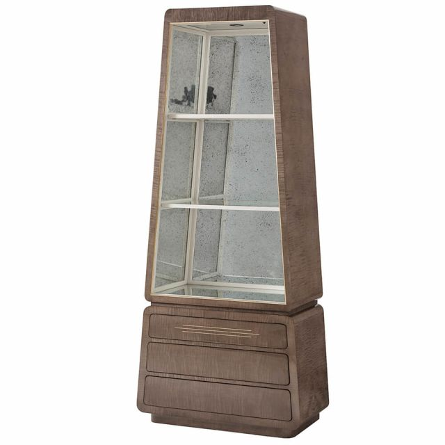 Theodore Alexander Grace Tall Display Cabinet - Agate