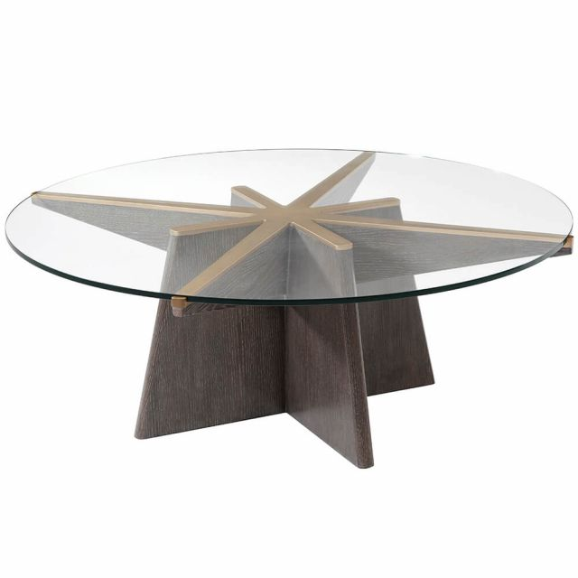 Theodore Alexander Henning Round Coffee Table