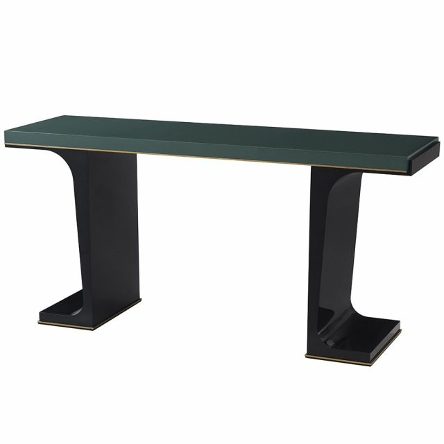 Theodore Alexander Fulham Console Table - Green Lacquer