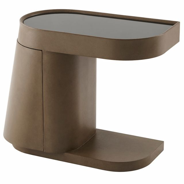 Theodore Alexander Edge Side Table - Left
