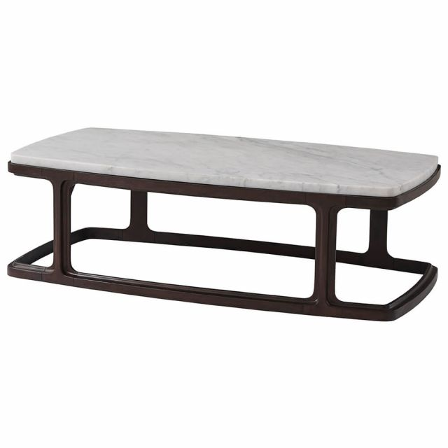 Theodore Alexander Inherit Coffee Table - Marble